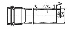 Труба напорная из PVC-U PN 10 SDR26