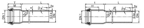 Характеристики  трубы PVC