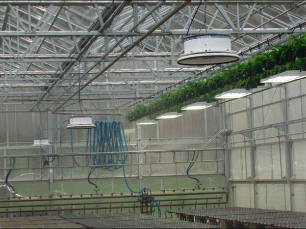 Системы климат контроля туманом в производственном помещении