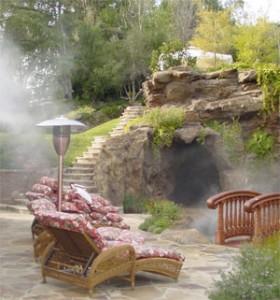 Ландшафт для отдыха для загородного дома